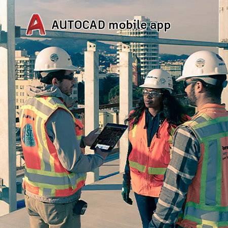 AutoCAD Web en mobile app