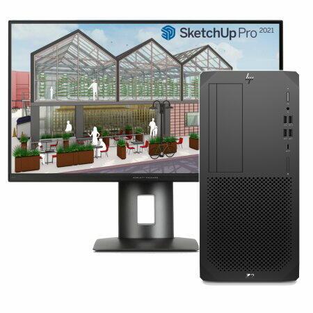 HP Z2 Tower G5 - Sketchup