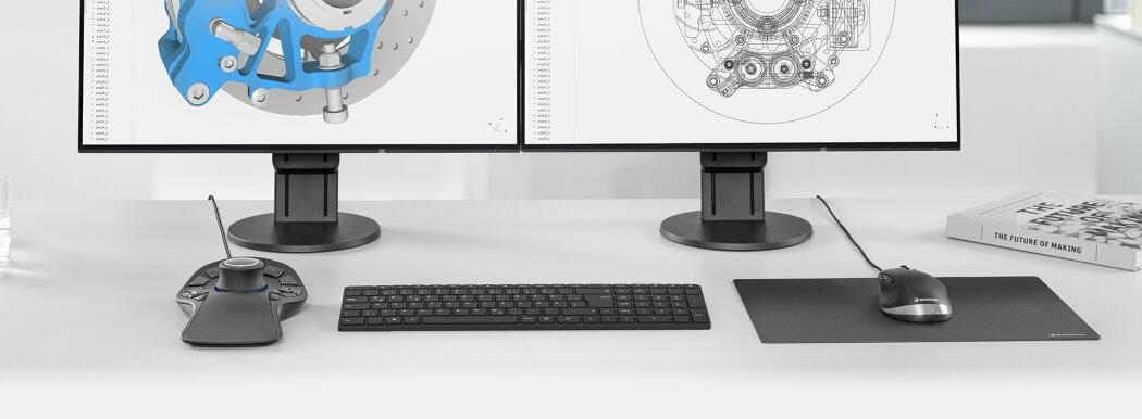 3DConnexion - CAD- en 3D Muis in één bundel