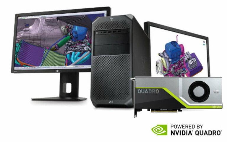 Powered by Nvidia Quadro