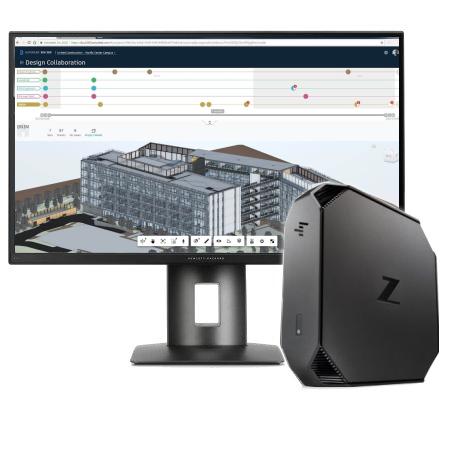 HP Z2 G5 Mini - Recit en Civil 3D