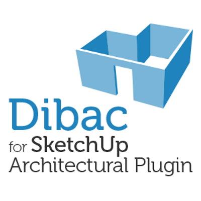 Dibac architectuur plugin voor SketchUp