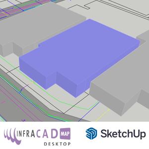 INFRACAD Map desktop voor Sketchup