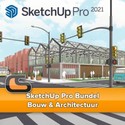 SketchUp Pro Bundel – Bouw & Architectuur