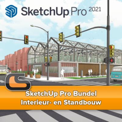 SketchUp Pro Bundel – Interieur- en Standbouw