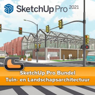 SketchUp Pro Bundel – Tuin- en Landschapsarchitectuur