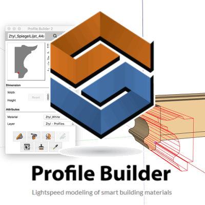 Profile builder for SketchUp